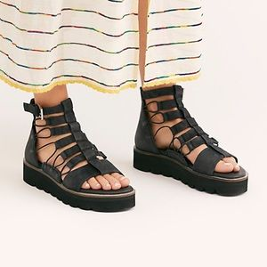 Sunrise platform sandal size 7 Free People